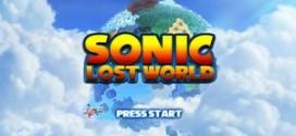 Nintendo lançará jogos exclusivos do Sonic