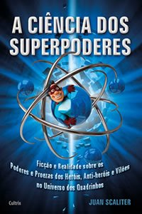 Livro explica os poderes dos super-heróis