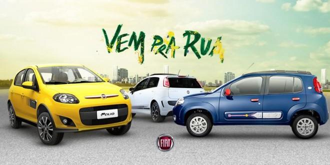 Campanha da Fiat com música usada em protestos sai do ar dia 22