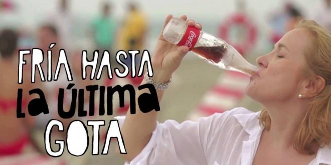 Coca-Cola lança garrafa feita de gelo