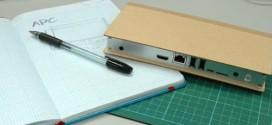 Computador de papelão vence prêmio de design e inovação