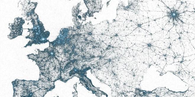 Mapa-múndi do Twitter