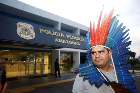 Líder indígena do Amazonas não é índio, afirma PF