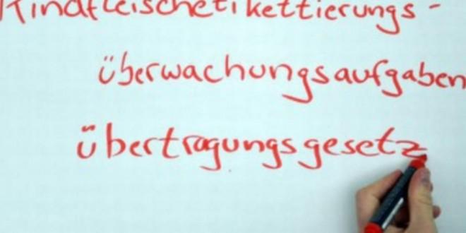 Alemanha abandona palavra de 64 letras