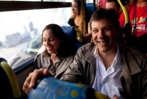 Projeto de Haddad prevê ônibus 24h em SP
