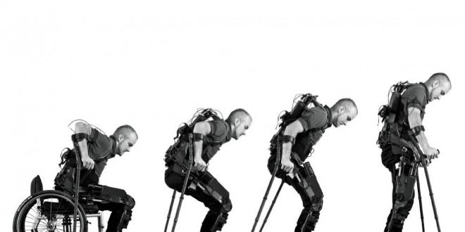 Exoesqueleto permite que cadeirantes voltem a caminhar