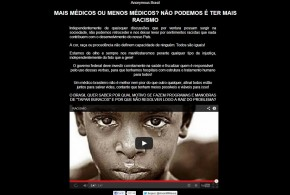 Anonymous invade site do Sindicato dos Médicos do Ceará após hostilidades contra cubanos