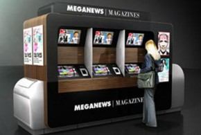 Banca eletrônica imprime revistas e jornais sob demanda na Suécia
