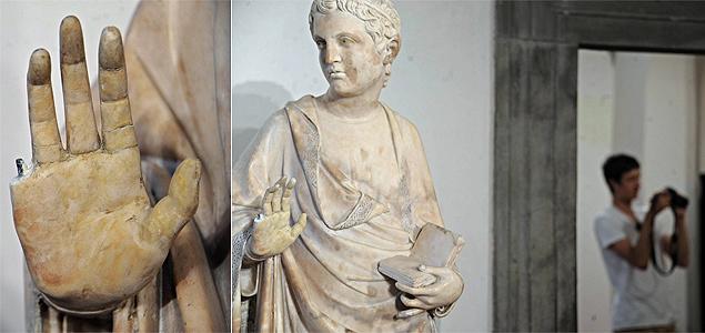 Turista desastrado quebra estátua de mais de 600 anos em museu de Florença