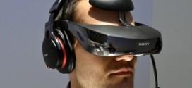 Sony lança óculos de realidade virtual que simula tela de 750 polegadas