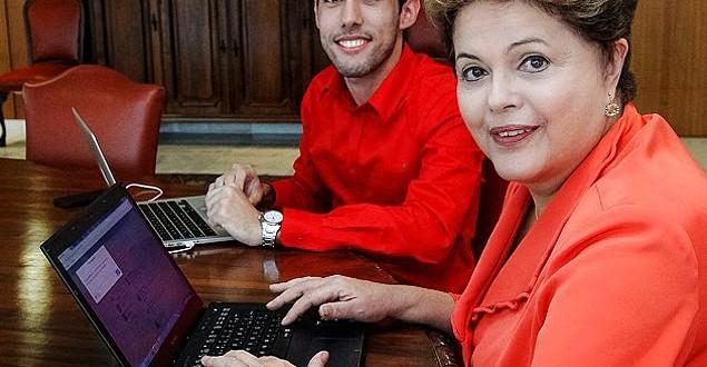 Dilma volta ao Twitter e publica foto com Dilma Bolada no Instagram