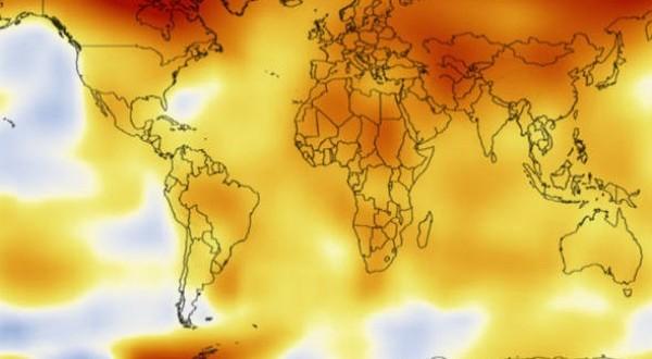 Vídeo da Nasa mostra 128 anos de aquecimento global em 32 segundos