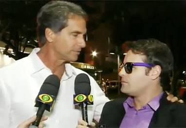 Victor Fasano e Vesgo se reencontram nove anos após tapa na cara