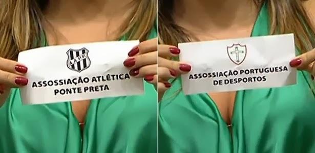 Associação vira 'assossiação' em sorteio do Paulistão 2014