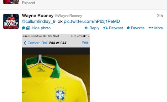 Jogador inglês escreve Brasil com 's' e é chamado de burro no Twitter