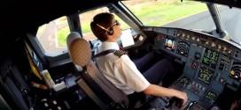 Pilotos põem câmeras na cabine para filmar seus voos