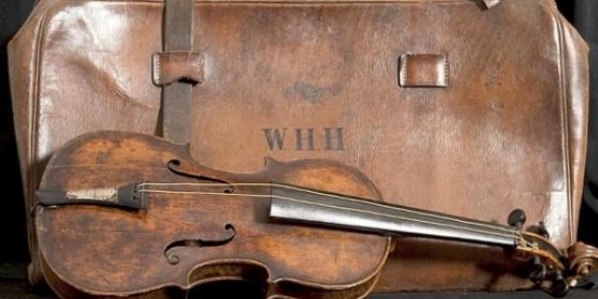 Violino tocado no naufrágio do Titanic é leiloado por R$ 3 milhões