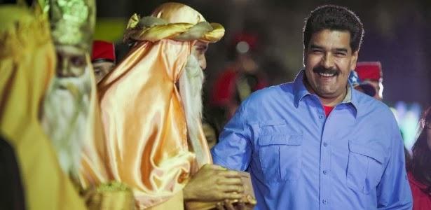 Maduro decreta Natal antecipado na Venezuela