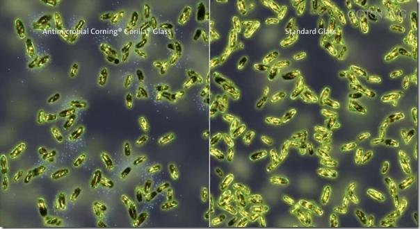 Fabricante do Gorilla Glass anuncia telas a prova de germes e bactérias