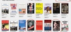Versão digital do livro de Hitler está em listas de mais vendidos da Amazon e do iTunes