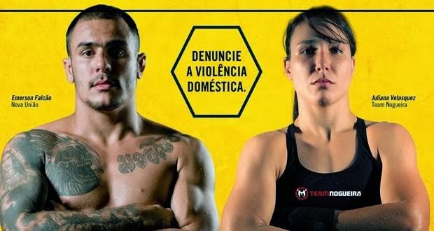 Luta de MMA entre homem e mulher foi campanha contra violência doméstica
