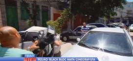 Cinegrafista reage a ameaça e agride manifestante no Rio