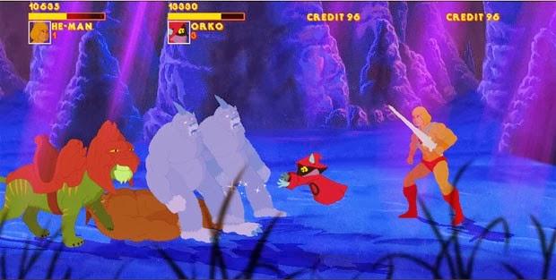 Fãs criam game do desenho 'He-Man'