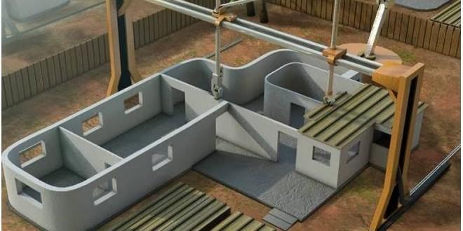 Impressora 3D gigante pode construir casas em apenas um dia