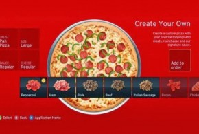 Pizza Hut já vendeu US$ 1 milhão pelo aplicativo do Xbox 360