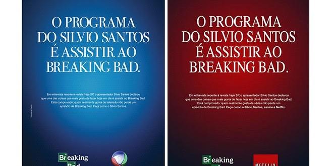 Record pretende processar Netflix por plágio em anúncio da série 'Breaking Bad'