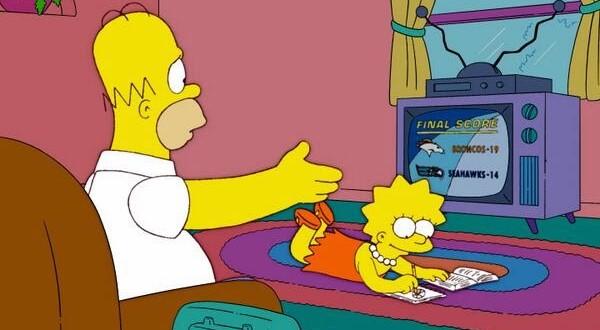 Série 'Os Simpsons' previu o Super Bowl de 2014 em 2005