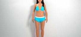 Artista cria Barbie com as proporções médias de uma adolescente americana de 19 anos