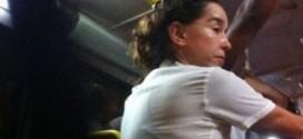 Atriz Lucélia Santos se irrita com divulgação de sua foto andando de ônibus lotado