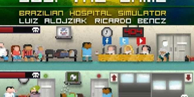 Brasileiros criam jogo que simula situação precária dos hospitais públicos no Brasil