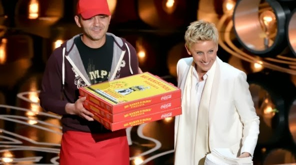 Entregador de pizza que participou do Oscar ganhou US$ 1 mil de gorjeta