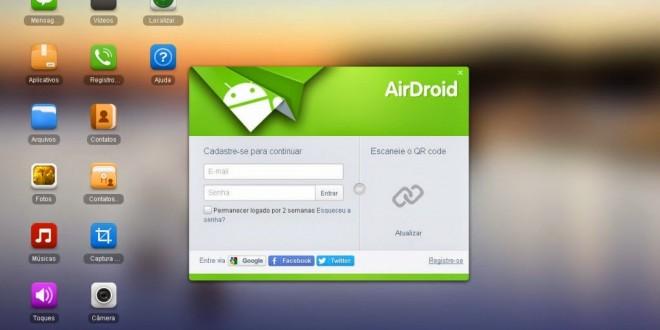 Aplicativo para Android permite mexer em celular via tela do PC
