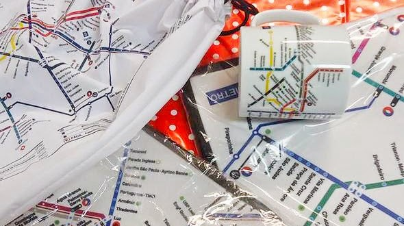 Estação Consolação ganha loja de produtos do Metrô