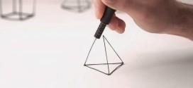 Caneta Lix desenha com plástico e cria objetos 3D