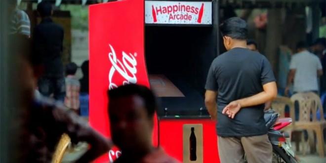 Coca-Cola cria fliperama ativado por garrafas vazias para incentivar reciclagem