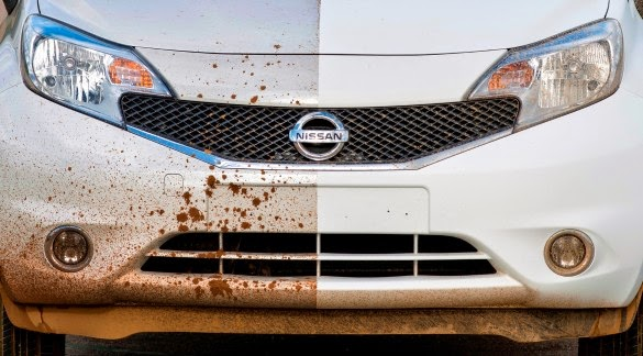 Nissan apresenta carro que não precisa ser lavado