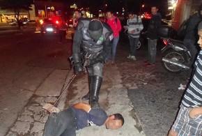 'Batman' persegue e prende ladrão de celular em SP