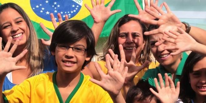 Com 6 dedos, família do DF torce para Brasil chegar ao hexa