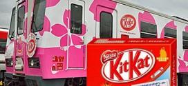 Embalagem de Kit Kat vale uma passagem de trem no Japão