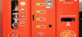 Máquina automática em posto de gasolina de SP faz pizza em 2min30s