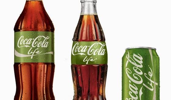 Coca-Cola Life com açúcar de cana começa a ser vendido nos EUA