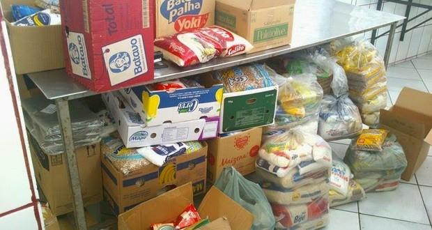 'Desafio do alimento' em Descalvado, SP, arrecada 1,3 tonelada em doações