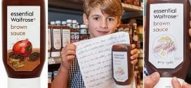 Empresa atende reclamação de garoto e usa seu desenho para estampar rótulo