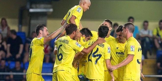 Garoto com câncer entra em campo e faz gol pelo Villarreal