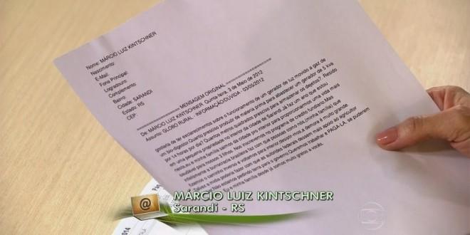 Globo Rural demora dois anos para tirar dúvida de telespectador