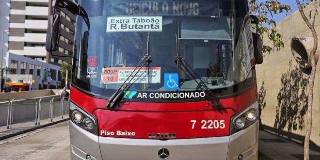 São Paulo recebe ônibus com wi-fi e ar-condicionado